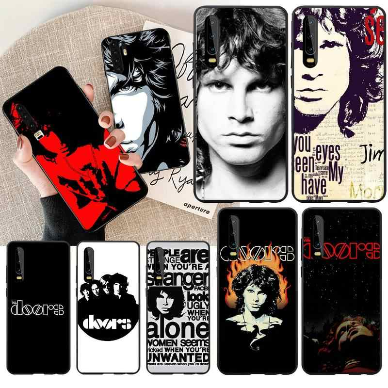 NBDRUICAI The doors JIM MORRISON DIY Printing Phone Case cover Shell for Huawei Honor 20 10 9 8 8x 8c 9x 7c 7a  Lite view