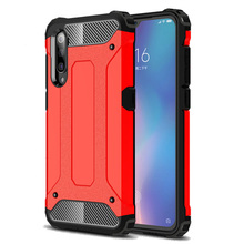 Luxury Silicone Shockproof Phone Case for Xiaomi Mi 9 SE Cover Rugged Armor Xiomi 9SE 9T  Bumper Cases