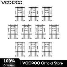 Original VOOPOO MT-M3 Triple Mesh Coil Head Electronic Cigarette Core 0.17ohm Resistance for Alpha Zip Maat Tank E-Cig