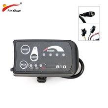 810 LED Display wodoodporne/normalne złącze do elektrycznego sterowania rowerami rowerowymi prędkościomierz Ebike reflektor PAS i kontroler