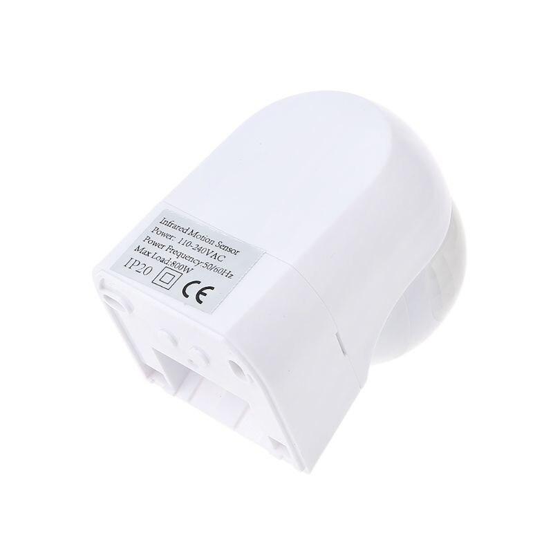Infrarot Motion Sensor Wasserdichte PIR Automatische Detektor 220V 30m Rotierenden Außen Licht Timer