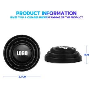 Image 2 - 4Pcs Car Door Shock Absorption Gasket Stickers For BMW Mini Cooper X5 X1 E46 E90 E60 F10 F30 E39 E36 F20 E87 E92 F31 E30 G30 G20