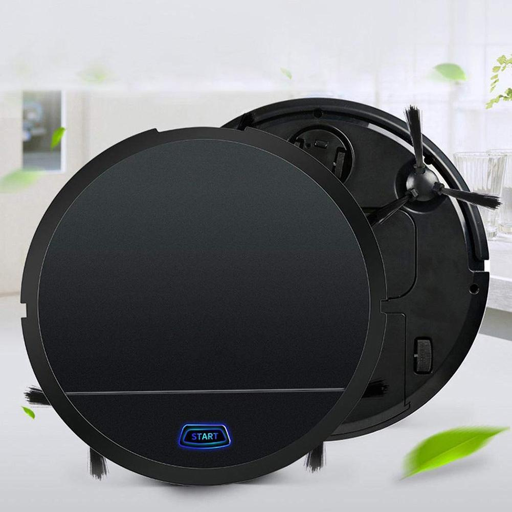 Smart Home Automatic Sweeper Smart Powerful Suction Wet Mopping Vacuum Cleaner Robot