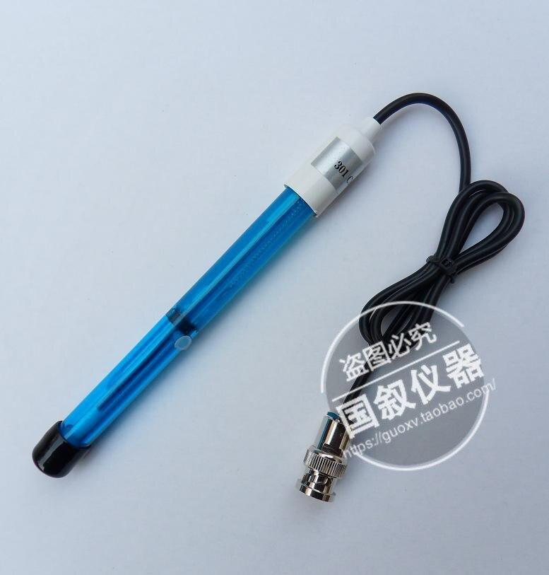 301 Chloride Ion Electrode / Sensor / Probe Composite Chloride Ion Selective Electrode Ion Meter