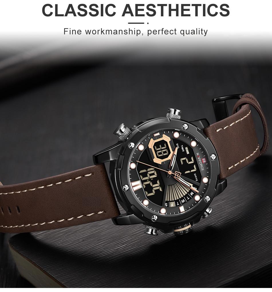 H1f9bef26a0394df28375232eec8690e2n NAVIFORCE Men Watch Top Luxury Brand Fashion Sports Wristwatch