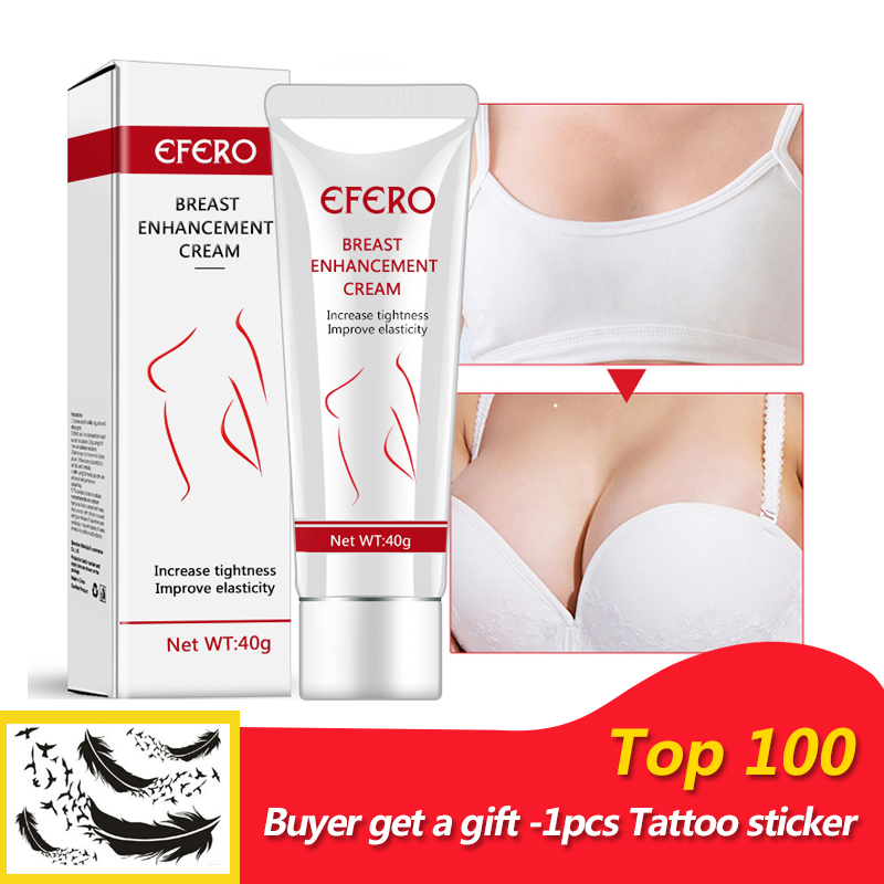 EFERO Effective Full Elasticity Breast Enlargement Cream Effective Breast Enhancer Increase Tightness Big Bust Body Cream 40g