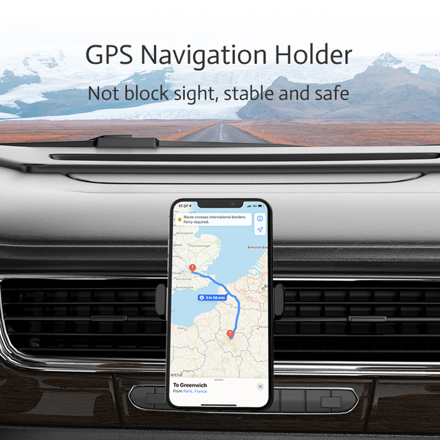 RAXFLY Car Phone Holder For iPhone Smartphone Air Vent Mount Clip 360 Rotation Universal Support Telephone Voiture Soporte Movil 3