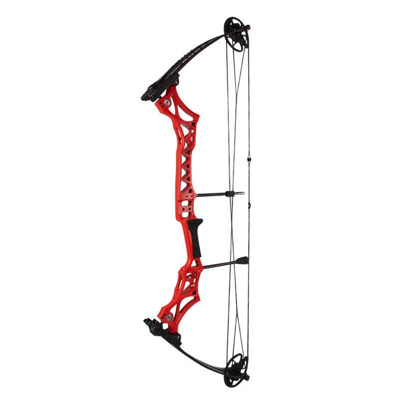 Tir à l'arc 1pc M108 arc composé 30-55lbs réglable IBO 300FPS arc de chasse main droite accessoires de jeu de tir en plein air