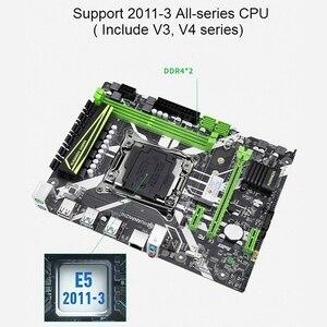 Image 5 - HUANANZHI X99 8M 마더 보드 슬롯 LGA2011 3 USB3.0 NVME M.2 SSD 지원 DDR4 REG ECC 메모리 및 Xeon E5 V3 V4 프로세서