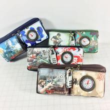 цена на anime pencil case for boys high quality game pencil bag children cartoon school supplies stationery pancilcase
