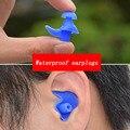 Мягкие затычки для ушей силиконовые водонепроницаемые затычки для ушей защита от пыли беруши экологические спортивные затычки для дайвинг...