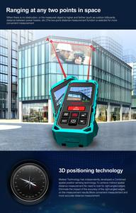 """Image 4 - Mileseey P7 80M Bluetooth Laser Rangefinder with Rotary Touch Screen Rechargerable Laser Meter  2.0"""" LCD Handheld"""