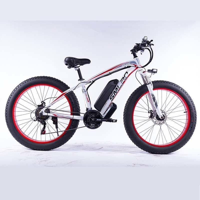 "XDC600 High quality Bafang Motor 1000W 48V 17.5Ah Sam sung e bicycle 21 speed high quality electric bike 26"" e bike 1"