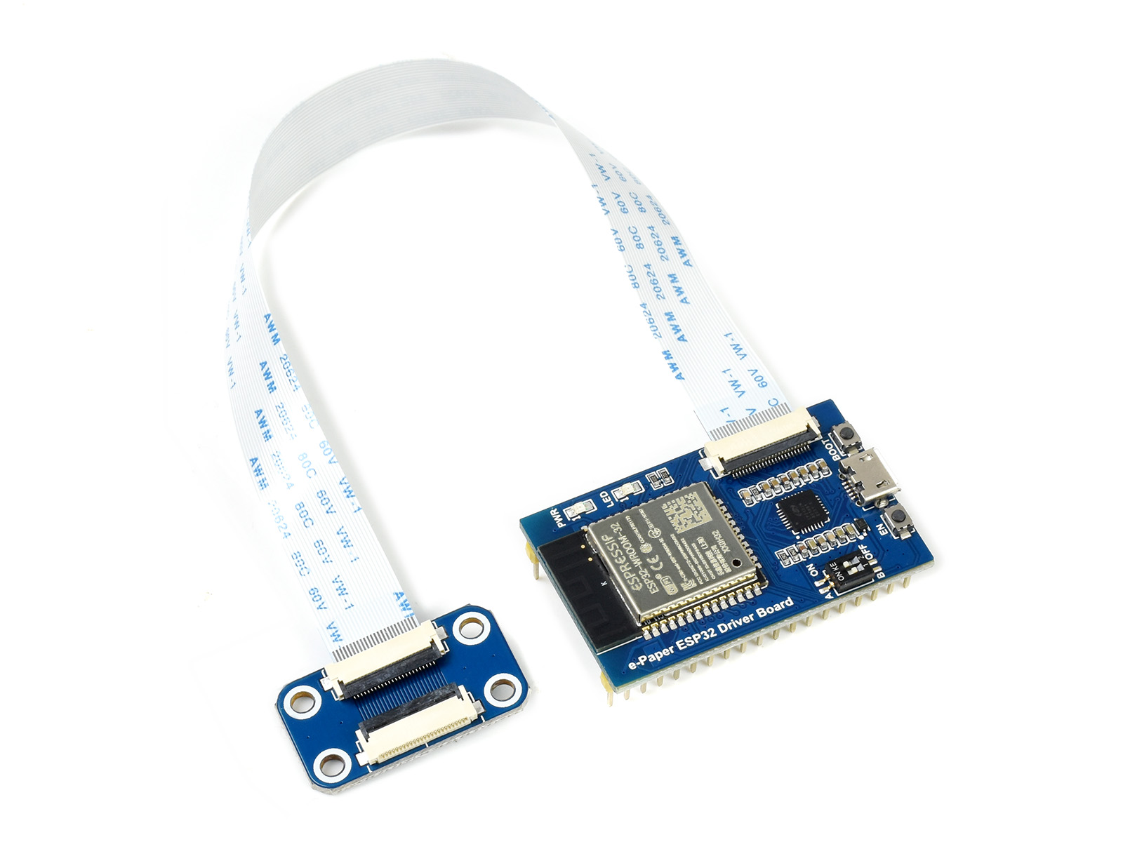 Waveshare Universal e-Paper Raw Panel Driver Board ESP32 WiFi/Bluetooth Wireless Supports Various SPI E-ink Raw Panels from WS