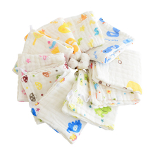 Get more info on the Baby 100% Cotton 5 Article Bib cotton Bib Baby Waterproof Cartoon Saliva  Of Cloth 6-Layer Towel Baby Face Towel Random Color