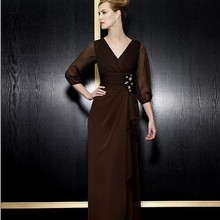 free shipping maxi formal 2018 new vestido de festa long plus party evening elegant with long sleeve