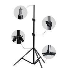 Profesjonalny regulowany statyw oświetleniowy z 1/4 łeb śruby do Photo Studio miga oświetlenie fotograficzne Softbox