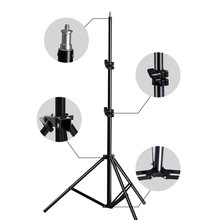 Professional Adjustable Light Stand Tripod With 1/4 Screw Head For Photo Studio Flashes Photographic Lighting Softbox