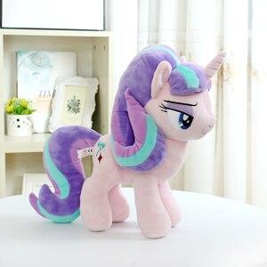 "Image 3 - Unicorn Starlight Glimmer  Plush Horse Action Toy Figures 12"" 30 CM"