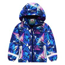 2020 Kids Jackets for Boys Girls Spring Children Hooded Rain