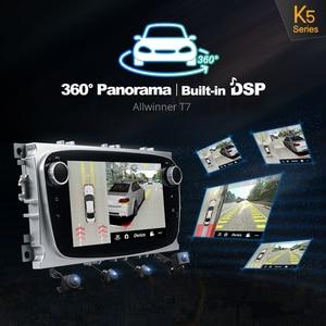 Image 5 - Ownice Android 10.0 araba DVD oynatıcı 2 Din radyo GPS Navi Ford Focus Mondeo Kuga C MAX S MAX Galaxy ses stereo kafa ünitesi