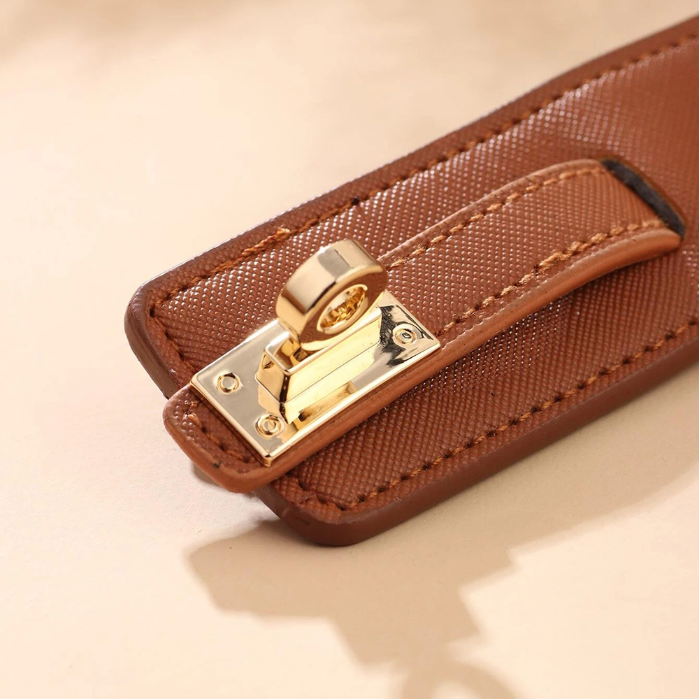 Kirykle-Bracelet en cuir, 6 couleurs, breloque multicouche pour femmes, Punk décontracté, accessoires de bijoux de fête, cadeau d'anniversaire de noël 3