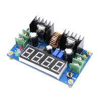 Digital Display Dc Dc 8A 180W Adjustable Cc Cv Step Down Power Supply Battery Charging Module Voltage Ammeter Led Driver