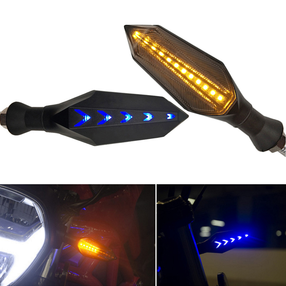 For Honda Cbr 250 R 500r 600rr 600 Rr 1000rr 1100xx Motorcycles Turn Signals Light Led Flasher Warning Lamp Auto Accessorie