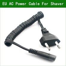 цена на New EU Plug Charger Power Cord Adaptor For Philips Norelco shaver HQ6844 HQ6849 HQ6853 HQ6854 HQ6855 HQ6859 HQ6868 HQ6874 HQ6879