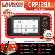 Ra Mắt CRP129X OBD2 Dụng Cụ Quét Android Dựa OBD2 Máy Quét 4 Hệ Thống Chẩn Đoán Dầu Thiết Lập Lại EPB/SAS/TPMS Ô Tô dụng Cụ