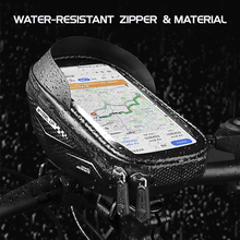 Backpack Bike-Frame-Bag Touchscreen Phone-Case Front-Tube-Bags Bike-Accessoires Cycling-Handlebar