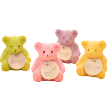24pcs/ lot New Bear Design Eraser With Pencil Sharpener Stationery Office Christmas Gift children