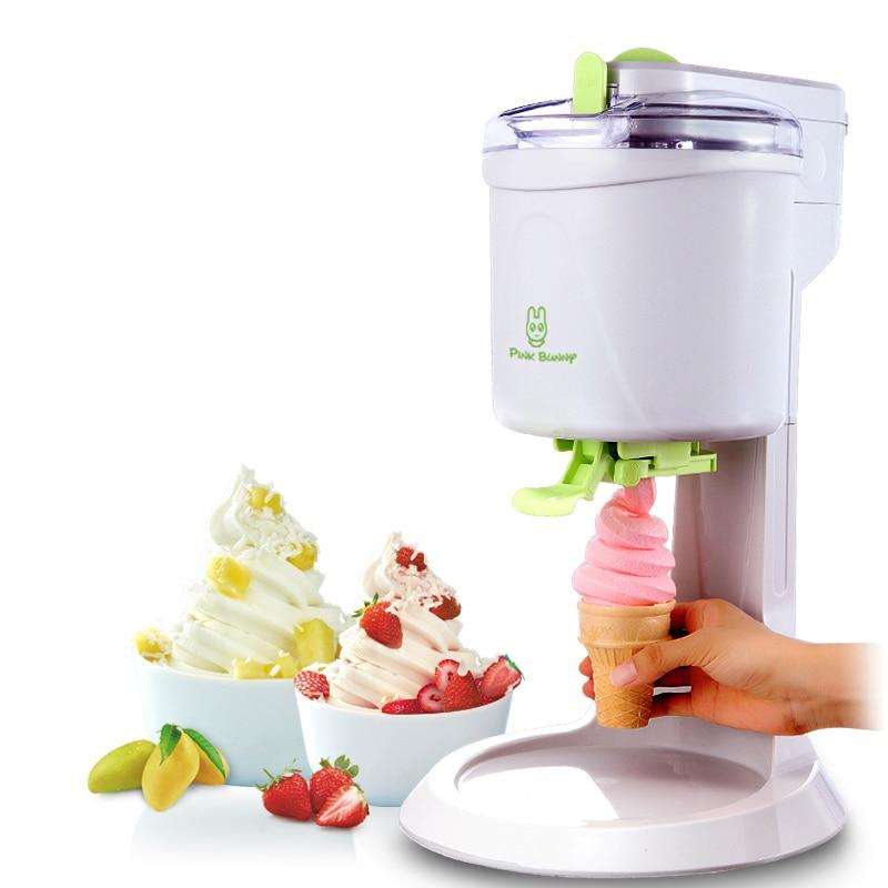 220V ice cream machine family children fruit cone automatic homemade small ice cream machine ice cream machine