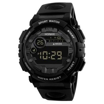 HONHX Luxury Mens Digital LED Watch Date Sport Men Outdoor Electronic Watch Sports Watch Relogio Masculino часы мужские часы