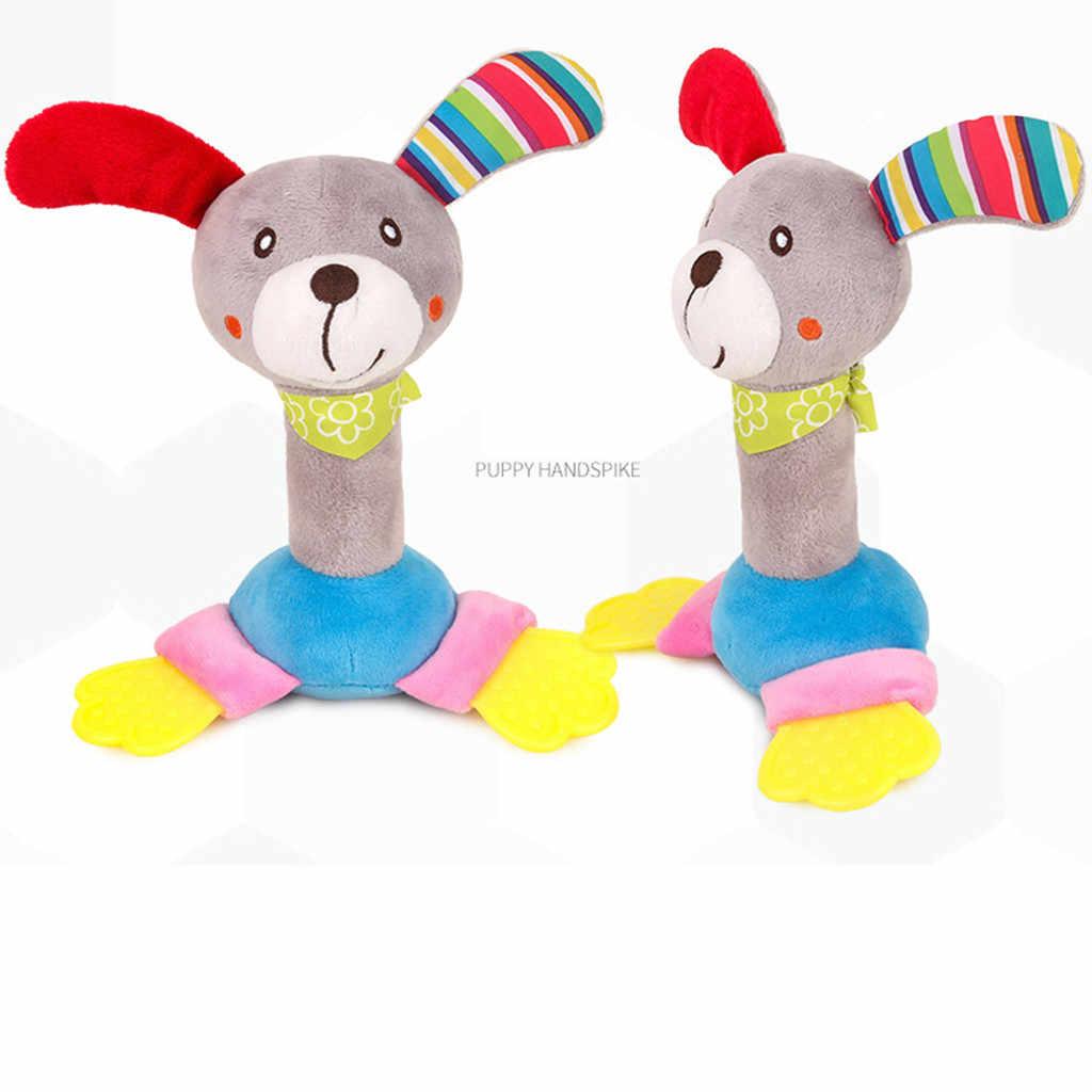 Bebé recién nacido Animal sonajeros suaves sonajeros colgantes campana de peluche Bebe juguetes Fancinating fantástico fabuloso impecable GK1212