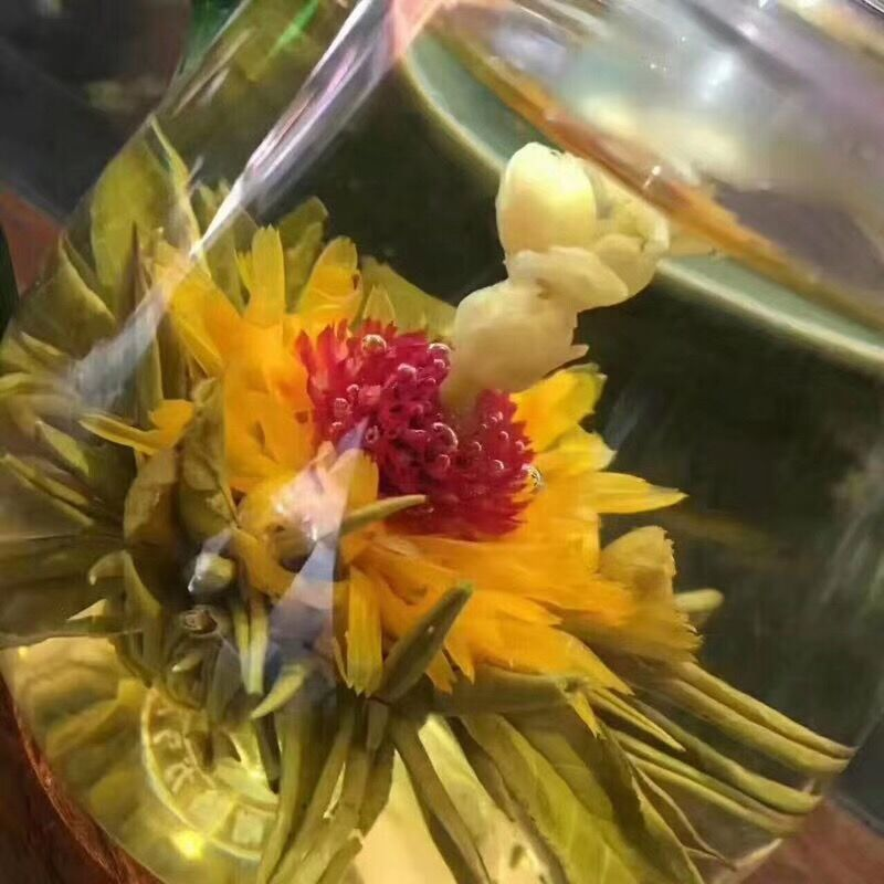 16 Kinds of Handmade Blooming Flower Tea 140g Chinese Ball blooming Flower Herbal Artistic The Tea For Health Care Products Tea 4