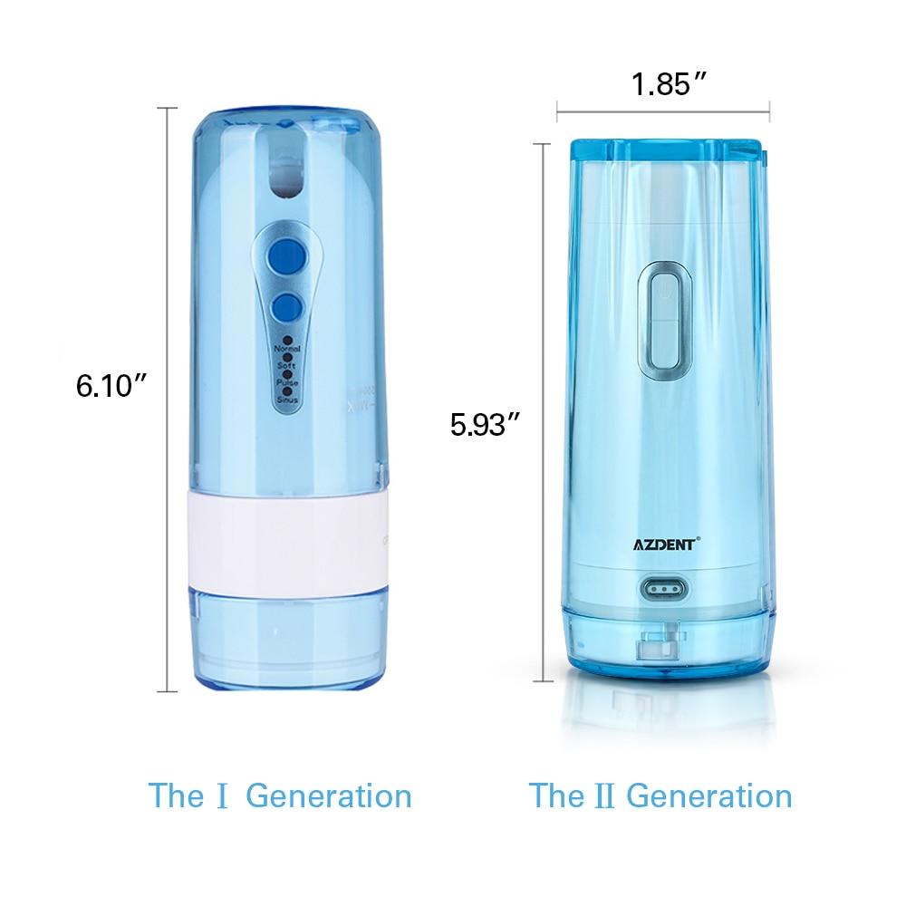 usb recarregavel 4 modos nariz limpo 200 ml 5 ponta jato 03