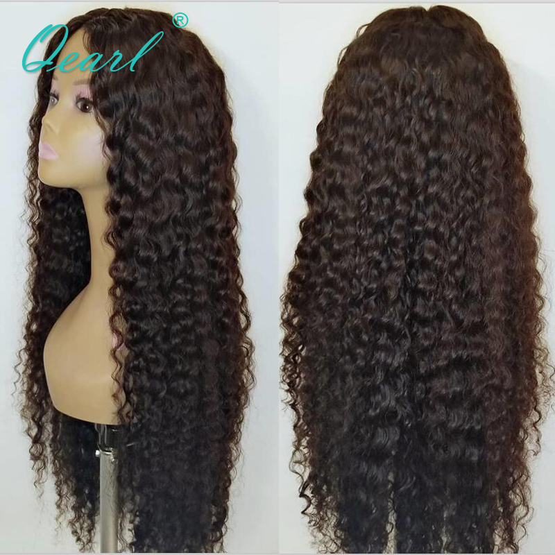Long Human Hair Lace Front Wig 30