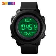 SKMEI мужские часы для улицы Chronograp Будильник спортивные часы мужские электронные цифровые наручные часы 50 м водонепроницаемые часы Montre homme
