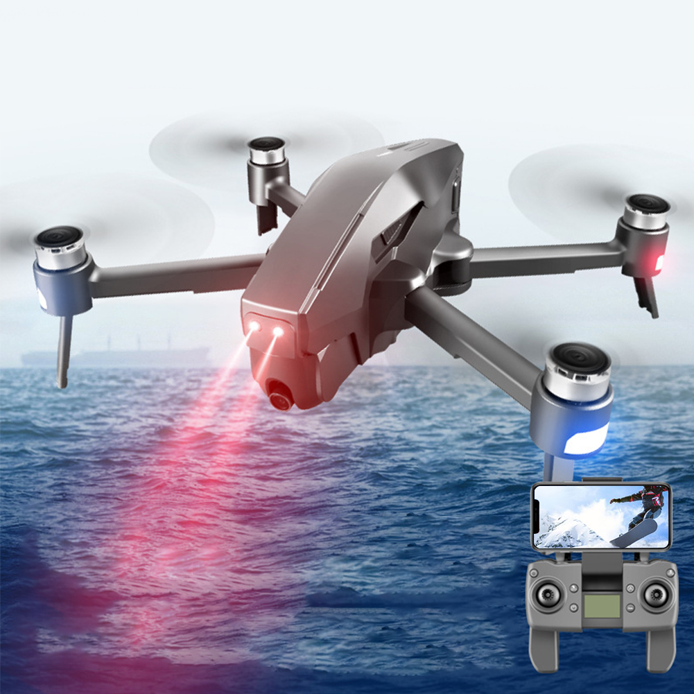 5G WiFi With Camera RC Quadcopter Drone Rechargeable Kid Wide Angle FPV Foldable GPS Height Hold Portable Professional Toys Gift