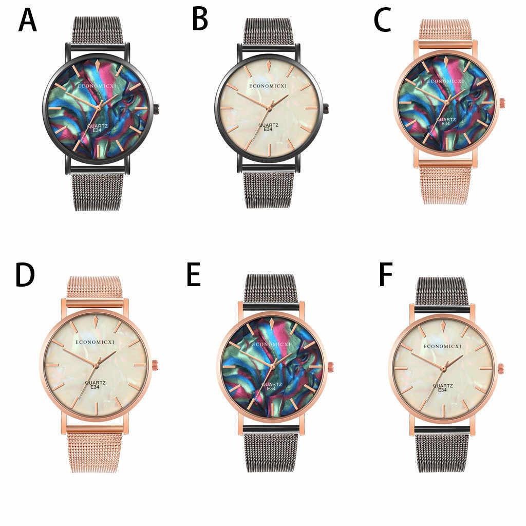 Mannen Gold Skeleton Vintage Horloge Unieke Quartz Horloges Top Armband Horloge Casual En Business Mesh Riem Horloge Geschenken # o21