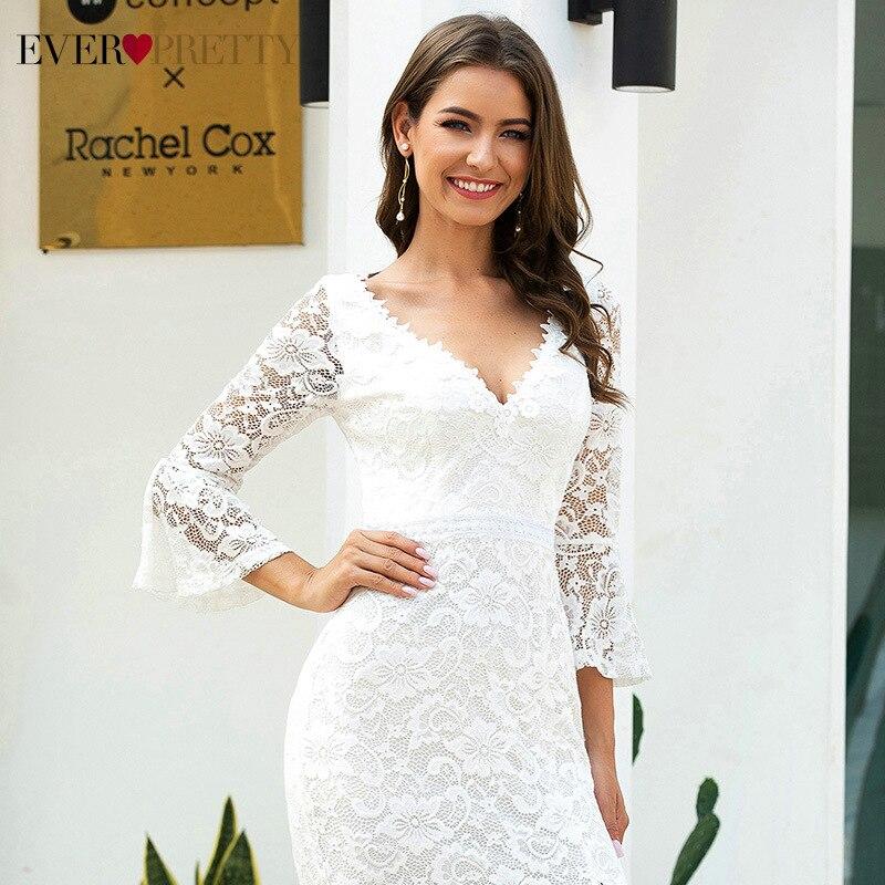 Купить сексуальные кружевные свадебные платья ever pretty элегантные