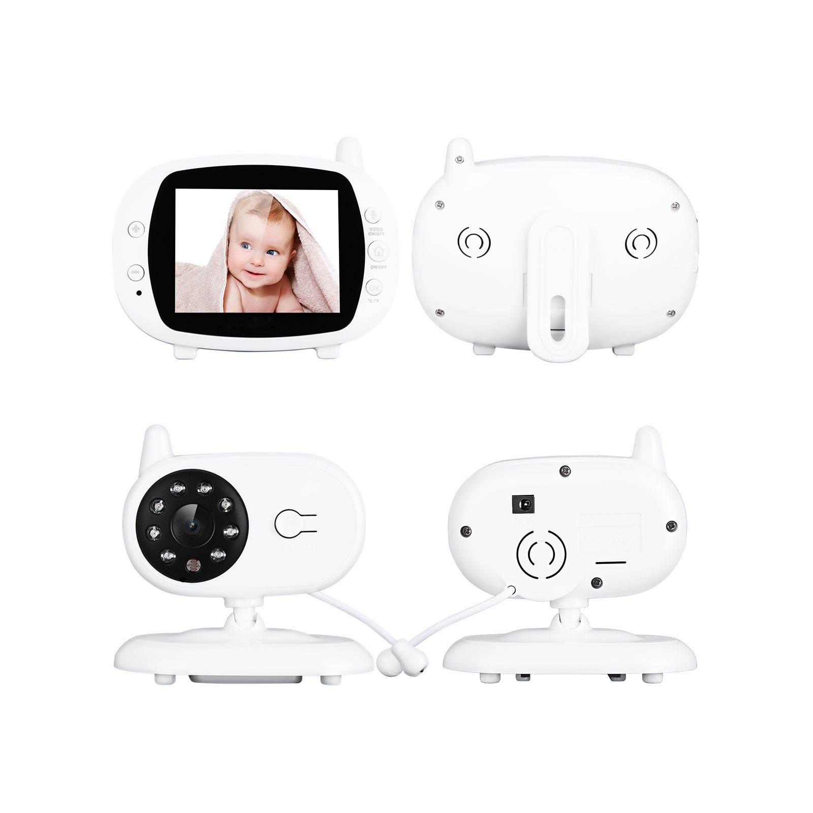 Baby Monitor Nanny Security Camera Vision Monitori Baby High Resolution Camera Baby Monitor Wireless Baby Video Night Vision