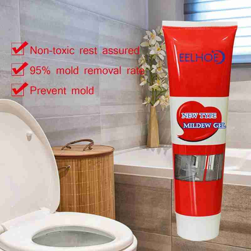 120g Mildew Cleaning Agent Mildew Stain Removing Mildew Cleaning Paste Wall Mold Mildew Scale Strong Remover
