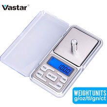 Vastar 200g/300g/500g x 0.01g /0.1g/Mini Presicion Tasca Elettronico bilancia per Gioielli In Oro digitale Balance Grammo Bilancia s