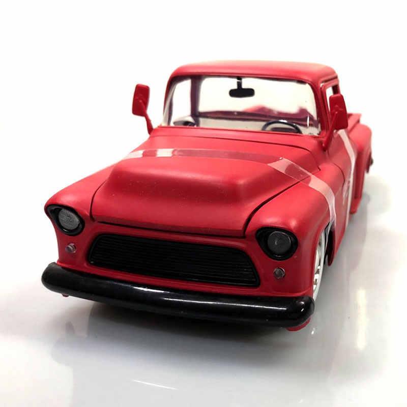 Jada 1/24 Quy Mô Xe Modle Đồ Chơi Chỉ Xe Tải 1955 Chevy Stepside Bán Diecast Kim Loại Xe Ô Tô Mô Hình Bằng Hợp, trẻ Em, Bộ Sưu Tập
