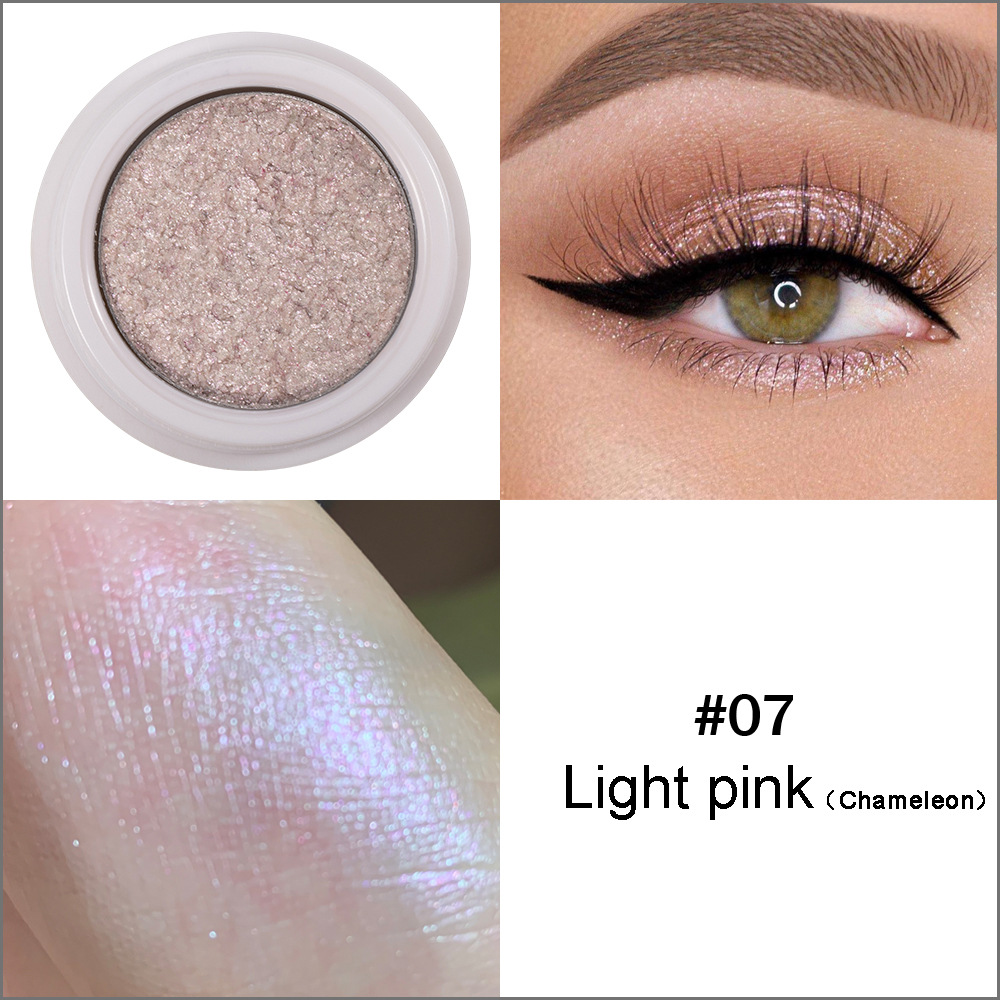 HANDAIYAN Glitter Nude Eyeshadow Pallete Waterproof Lasting Metallic Pigment Shimmer Eye Cream Makeup Maquillaje Cosmetic TSLM1(China)