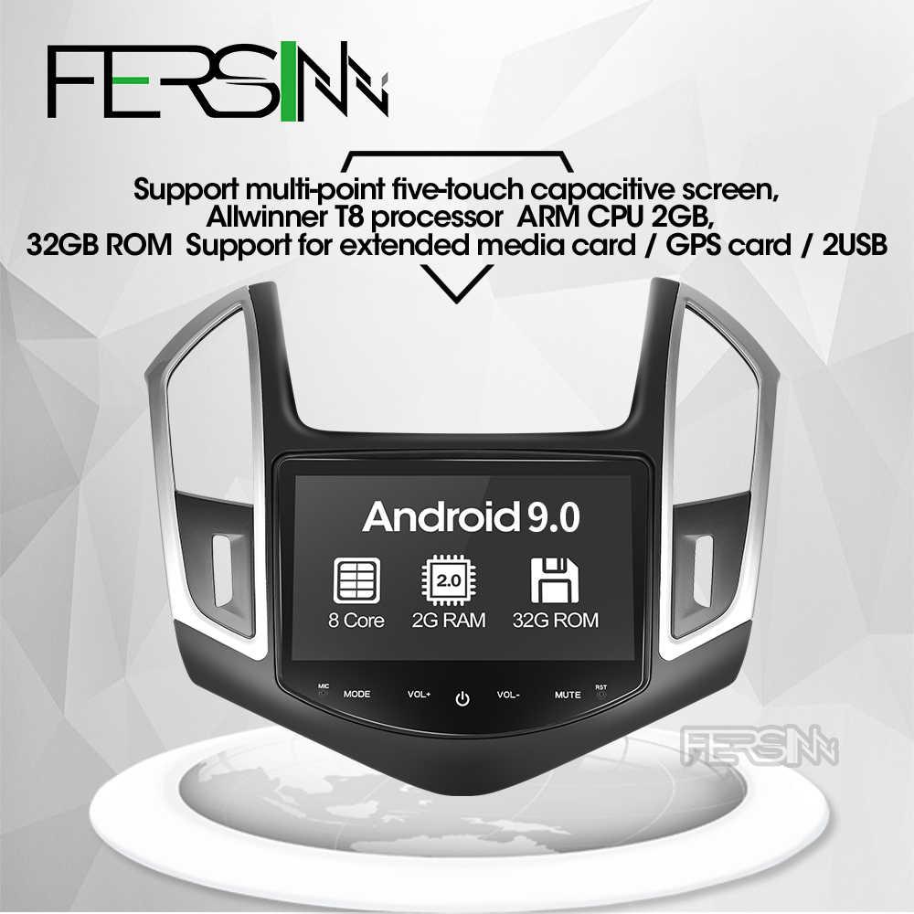 Fersinny アンドロイド 9.0 カー dvd gps プレーヤーのためにシボレークルーズ 2013 2014 2015 カーラジオビデオプレーヤー gps ナビゲーションカーステレオ