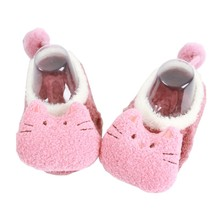 1-5T New Kids Baby Slippers Socks Letter Printed Cotton Winter Girls Boys Socks Infant Stuff Animal Pattern Warm Children Socks