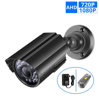 AHD Camera Analog High Definition Video Surveillance Infrared 720P 1080P CCTV Security Outdoor Bullet Webcam